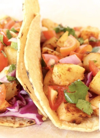 Healthy Potato Tacos